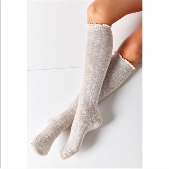 79271d0652a 5  25 NWT Urban outfitters crochet knee socks